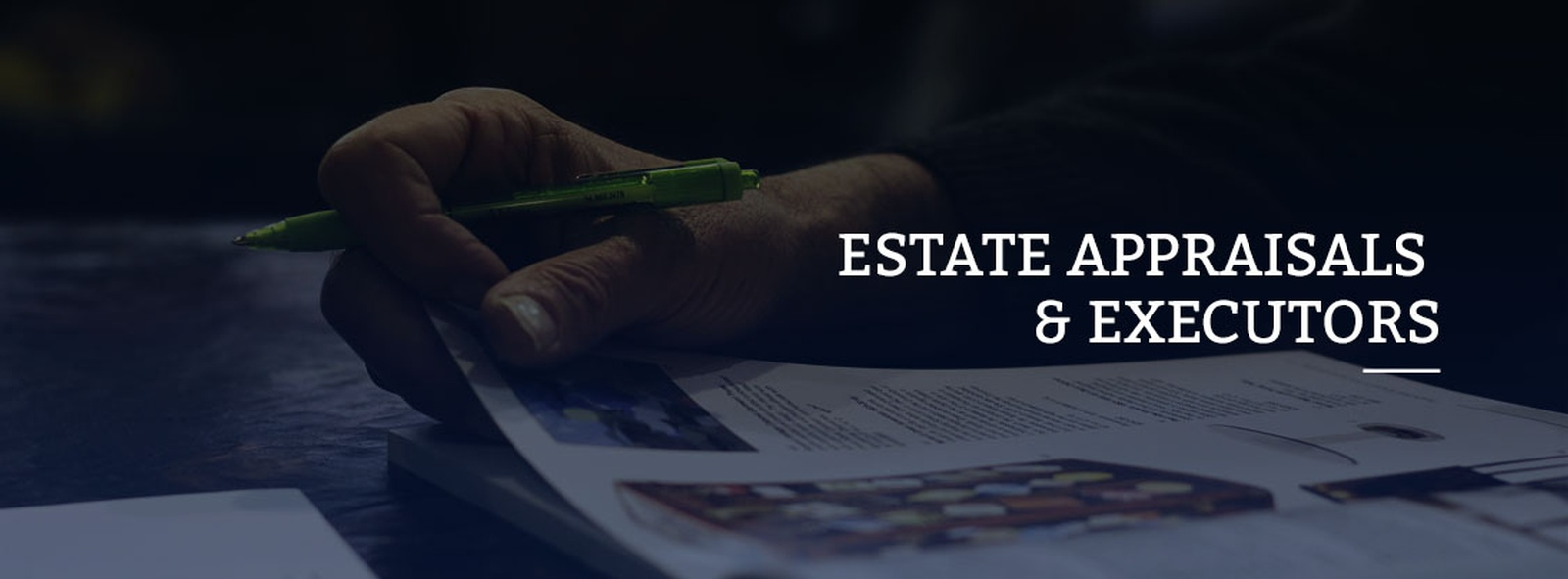 Estate Property Evaluations